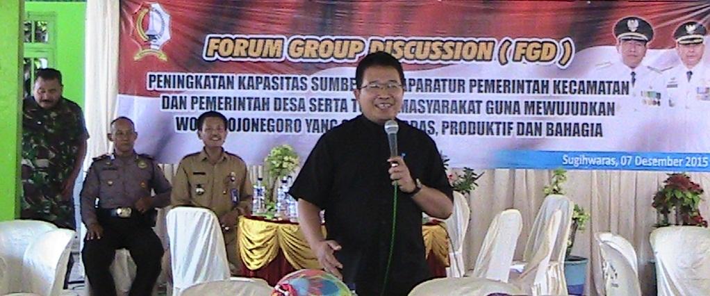 FGD Peningkatan Kapasitas Aparatur Pemerintahan<BR>Kecamatan Sugihwaras